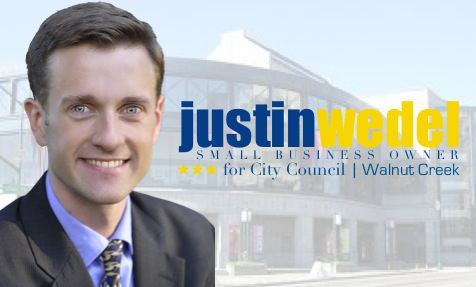 Justin Wedel for Walnut Creek City Council